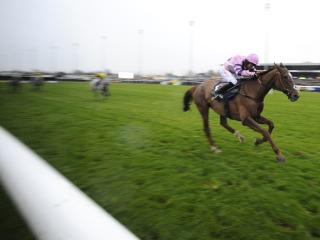 There is jumps racing from Kempton on Monday