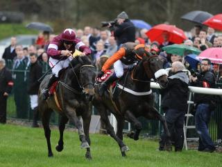 There is jumps action at Punchestown on Saturday afternoon