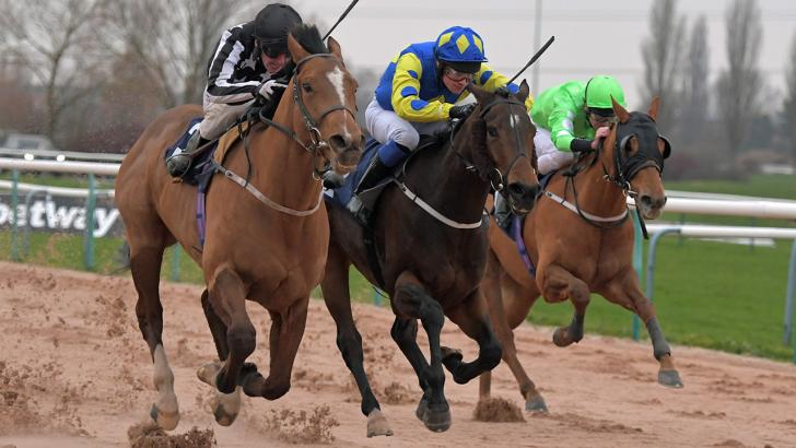 Racing at Southwell