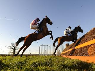 There is racing from Taunton on Monday