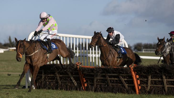 Thurles racecourse last hurdle