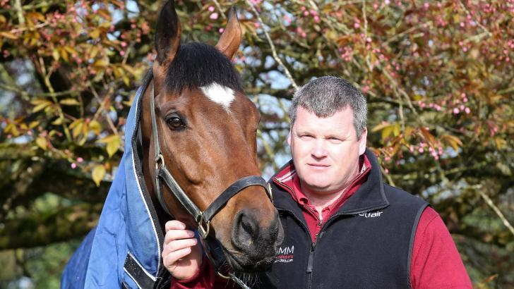 Tiger Roll with Gordon Elliott