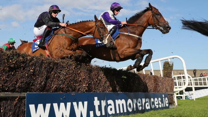 Tramore jumps racing action