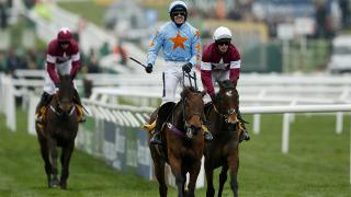 Ruby Walsh riding Un De Sceaux