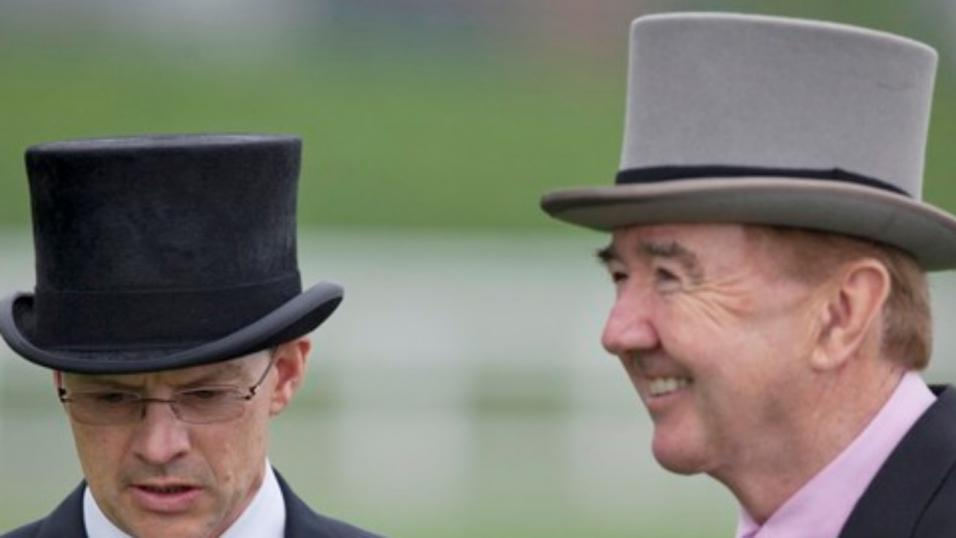 Dermot Weld and Aidan O'Brien