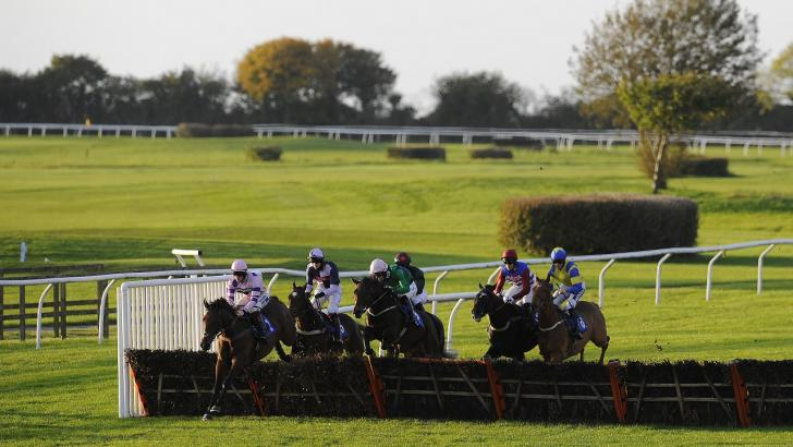 Wincanton hurdle action