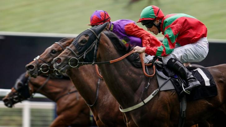 Clon Culis in action at Ascot
