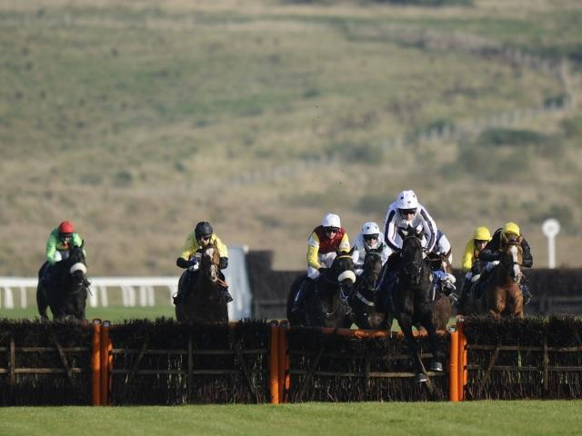 We're racing at Ffos Las (pictured), Sandown, Cork, and Naas this afternoon