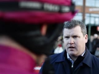 Gordon Elliott trains Don Cossack, who is second favourite for the Gold Cup