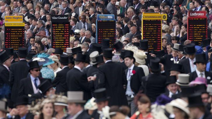 There is racing at Ascot this afternoon