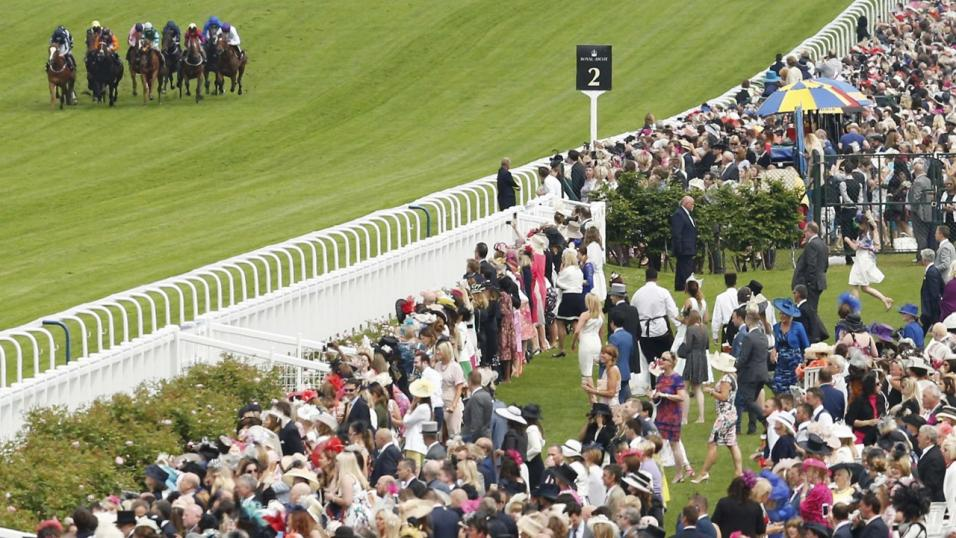 Royal Ascot - Crowd and Race Finish