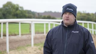 Gordon Elliott talking to Betfair about his yard