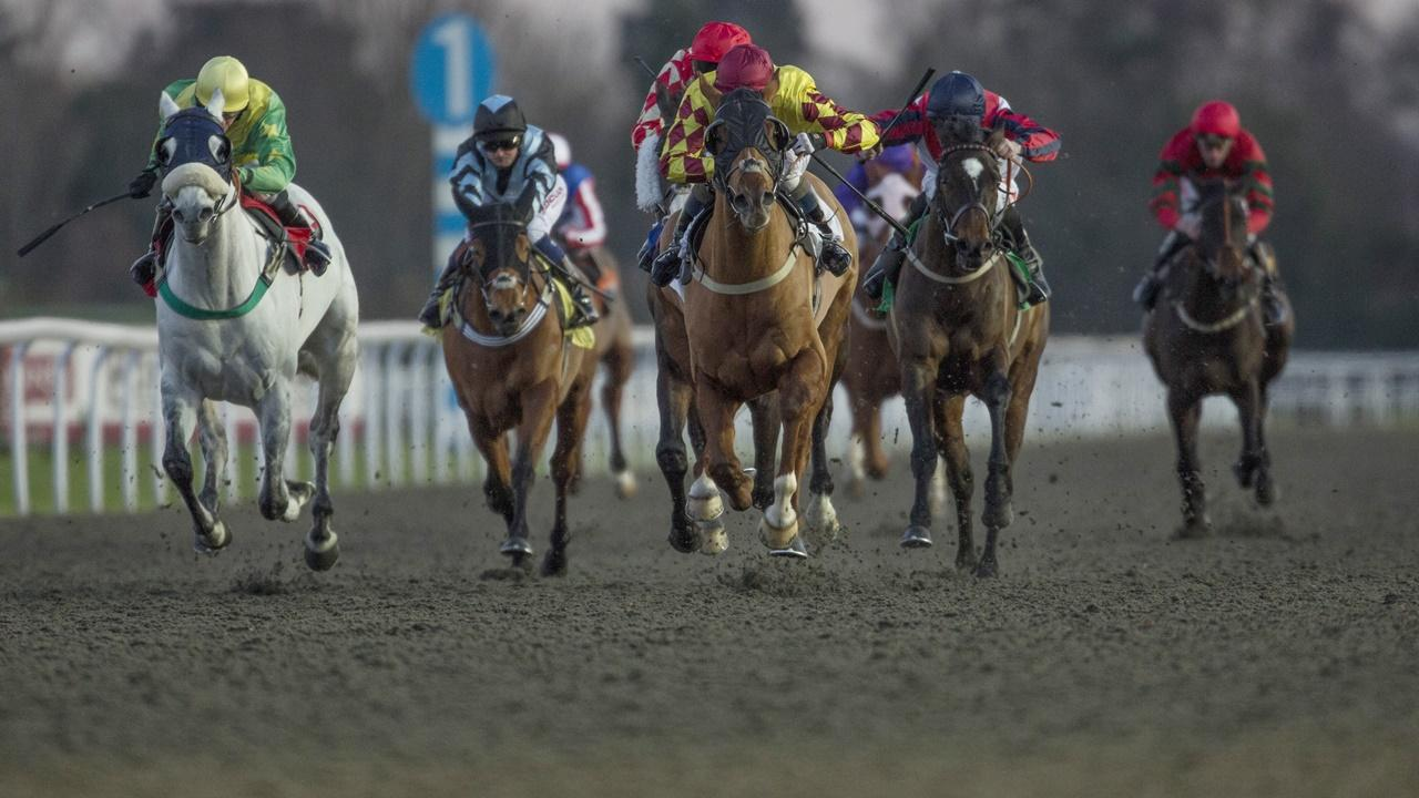There is racing from Kempton on Wednesday