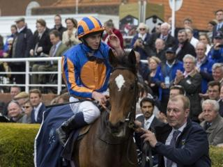 Legatissimo after winning the 1000 Guineas