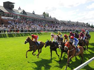 There is racing at Pontefract on Monday afternoon