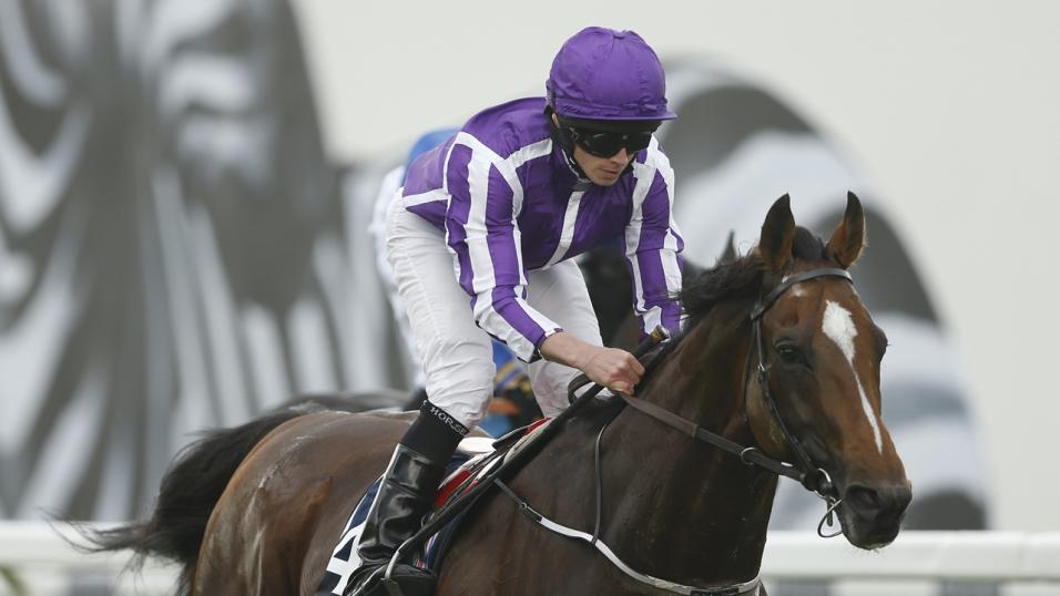 Ryan Moore has two rides at Saint-Cloud on Sunday afternoon