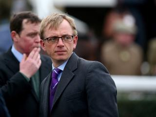The in-form Warren Greatrex trains Tony's fancy Kaysersberg in the 17:15 on Thursday