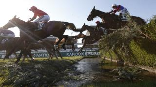 Water jump - Aintree Grand National