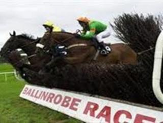 There's jumps action from Ballinrobe this evening