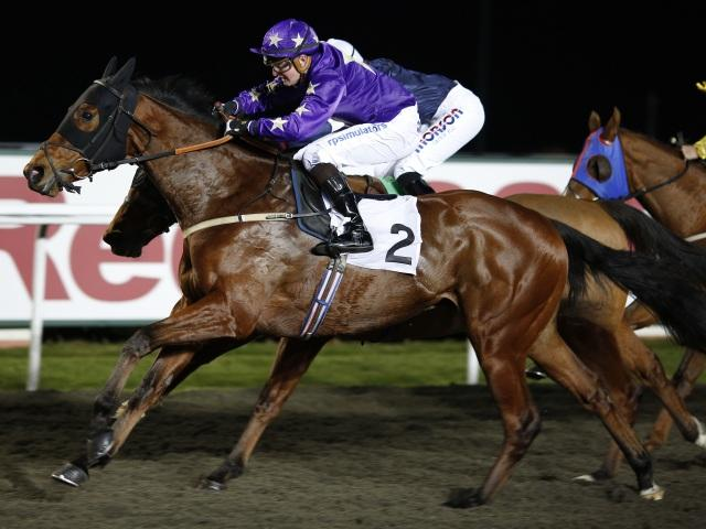 There is racing from Kempton Park on Wednesday evening