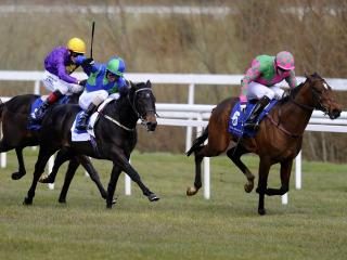 There is racing from Leopardstown on Sunday