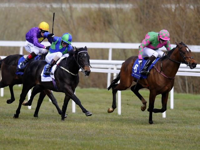 There is racing from Leopardstown on Thursday evening