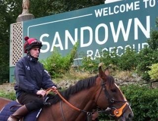 Racing comes from Sandown this afternoon