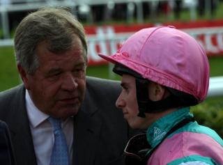 Sir Michael Stoute and Ryan Moore are very excited about Midterm's Derby prospects