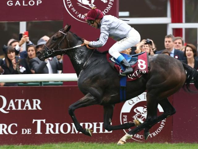 The Arc de Triomphe takes place at Chantilly on Sunday