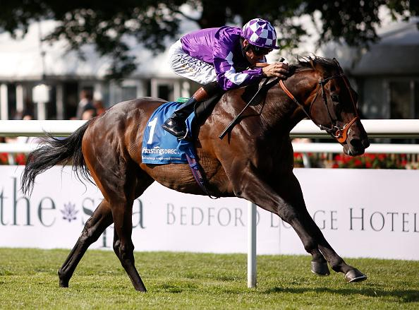 Tupi storming home to victory at Newmarket earlier this season