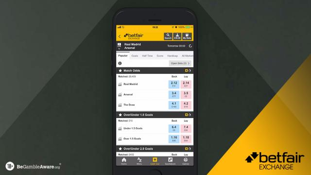 Back and lay betting terms over under horse betting explained each way lucky