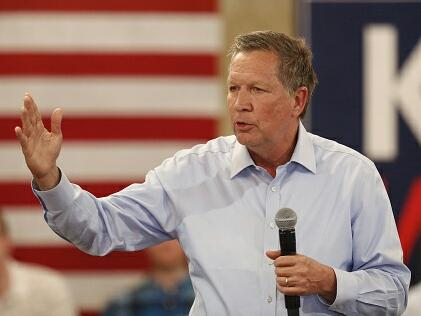 John Kasich has high hopes of denying Donald Trump in key states