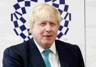 Former Foreign Secretary Boris Johnson