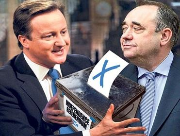 Win or lose, Salmond has destablised Cameron's leadership