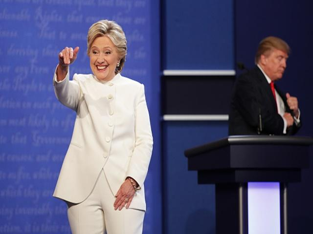 Hillary Clinton is all smiles after another debate victory