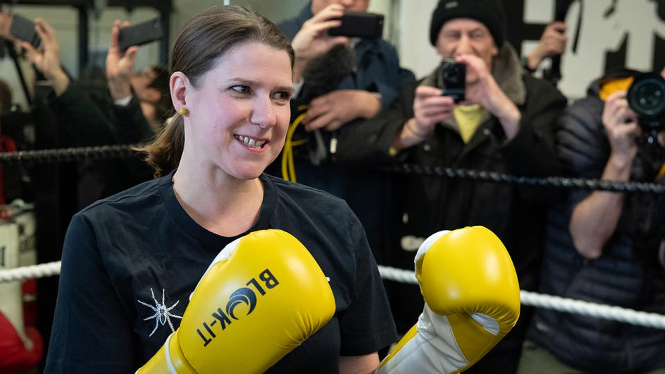 The Liberal Democrat leader Jo Swinson