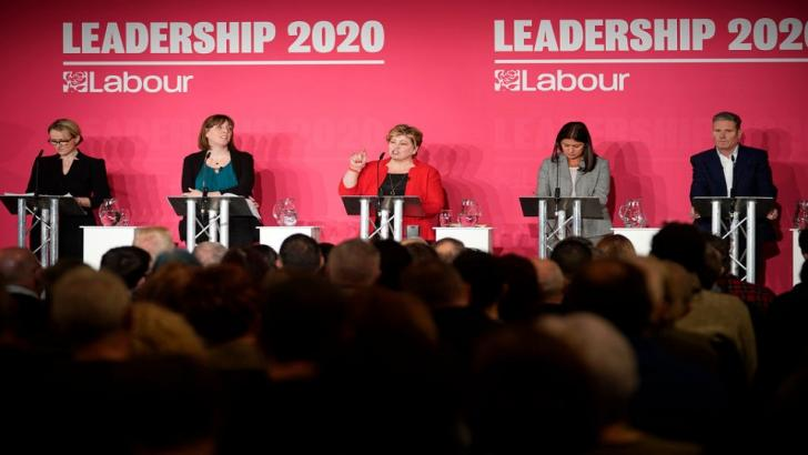 Five Labour leadership hopefuls in Liverpool