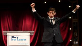 Rory Stewart at his campaign launch
