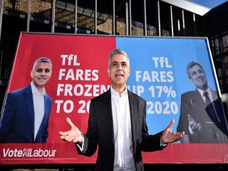 """Yes we Khan!"" Is Labour's Sadiq Khan set for City Hall?"