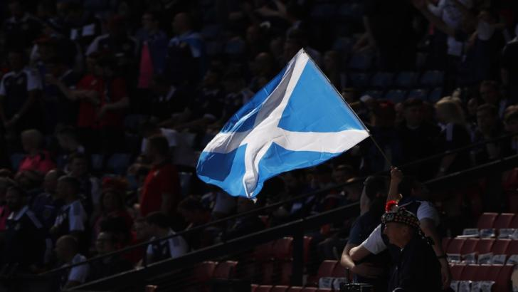 A Scottish Saltire