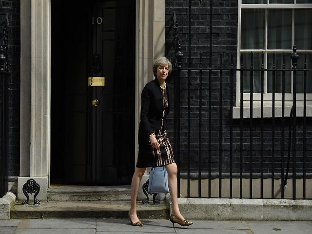 How long until Theresa May leaves Downing Street for the last time?