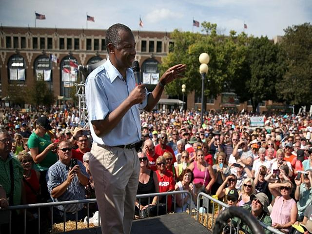 Ben Carson made a big impression at the Iowa State Fair