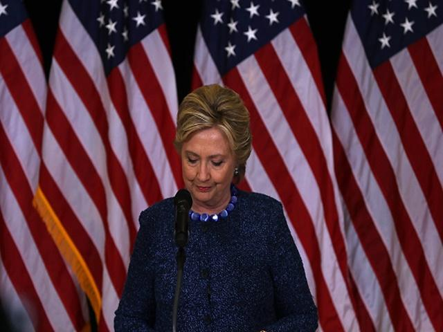 Hillary Clinton addressed the media after the latest damaging e-mail revelations