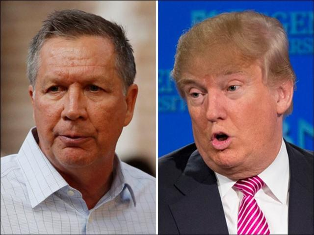John Kasich must win his home state to slow Trump's momentum