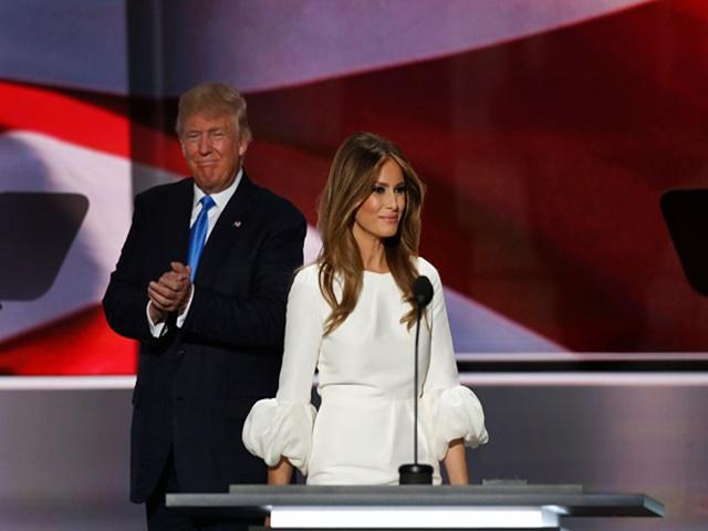 The Donald reigns supreme in Cleveland but wife Melania made the headlines