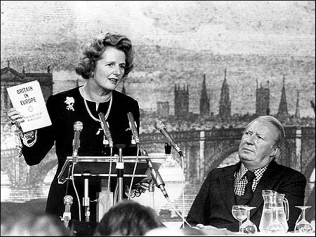 Few regarded Margaret Thatcher to be a future PM in 1975