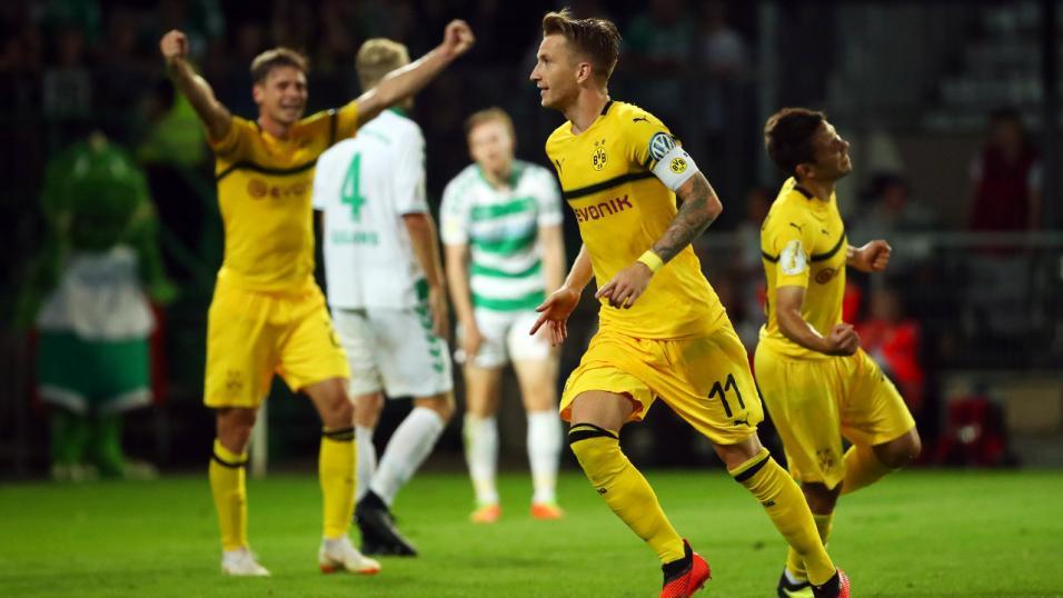 Apostas Borussia Dortmund vs Eintracht Frankfurt  Equilíbrio no ... f6ec49226b020