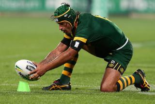 As one of the sports all-time greats, Australian playmaker Johnathan Thurston will likely set the standard