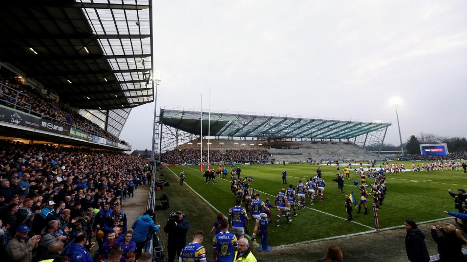 The redeveloped Headingley Stadium hosts Leeds Rhinos