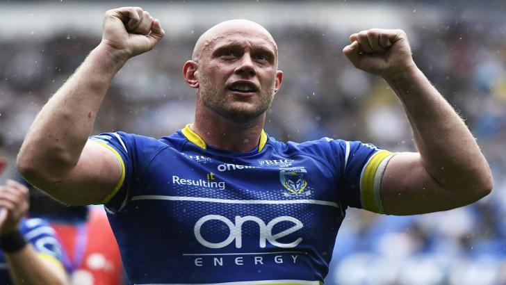 Warrington Wolves Chris Hill